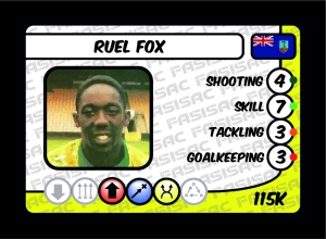 Ruel Fox Card
