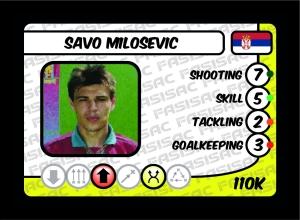 Savo Milosevic FASISAC Card