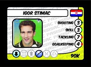 Igor Stimac FASISAC Card